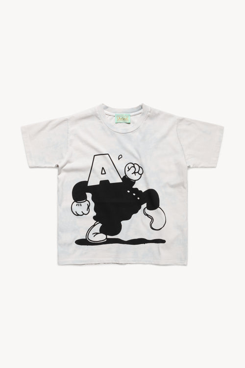 Acid Cartoon Shrunken Tee