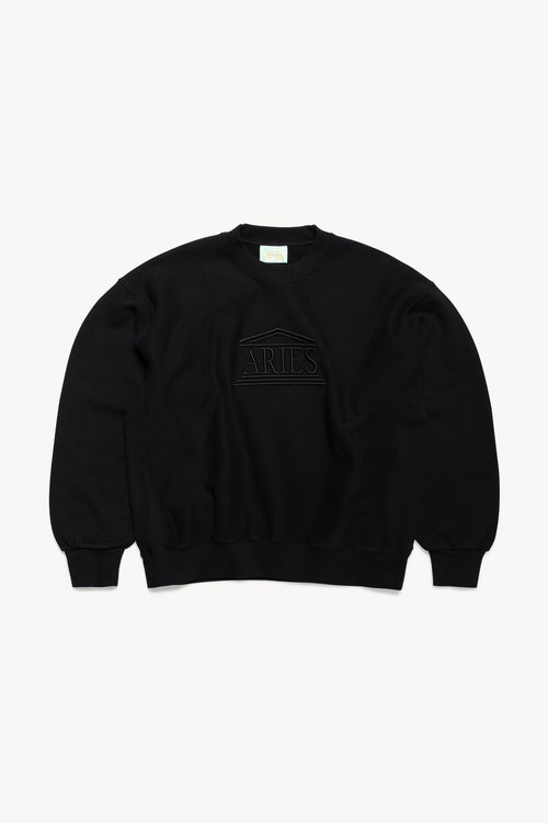 Embroidered Temple Sweat