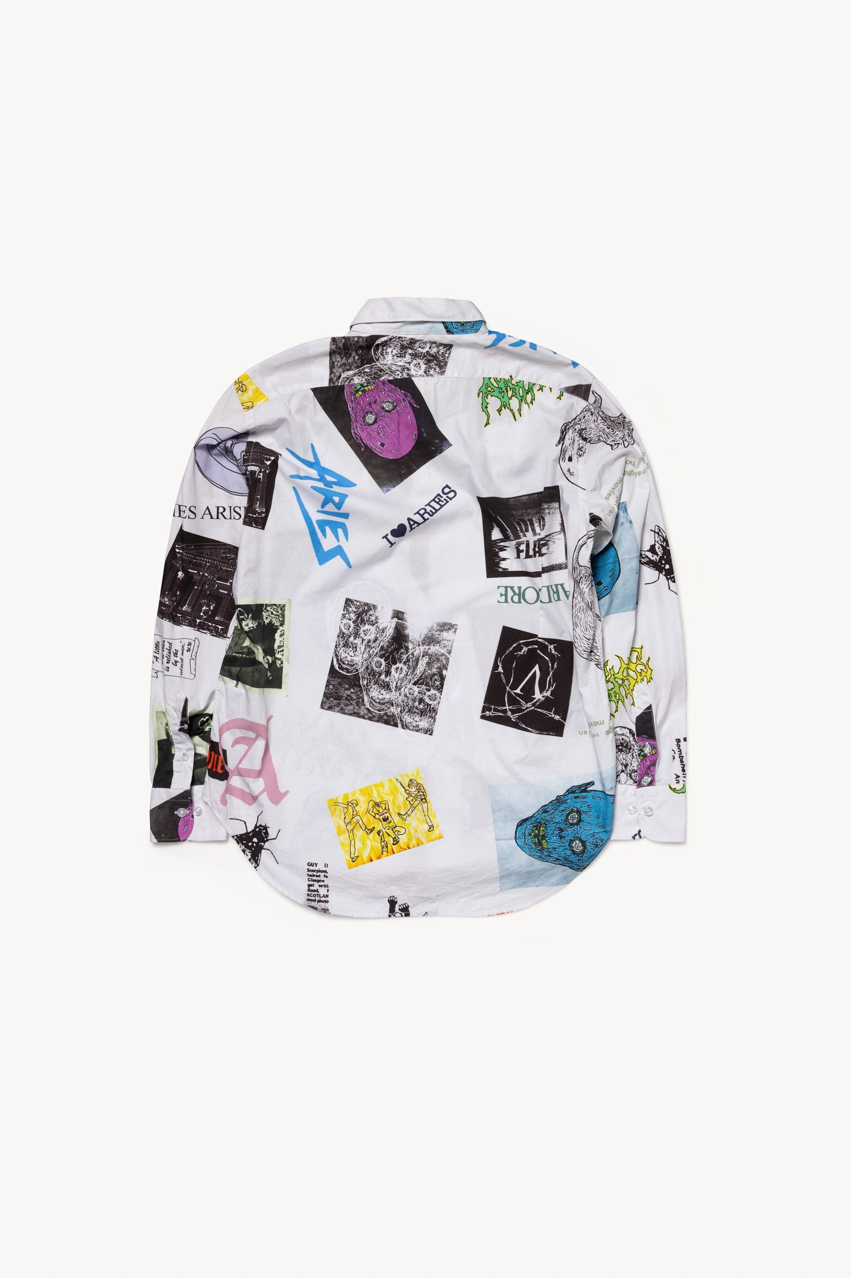 Load image into Gallery viewer, Thrasher Print Shirt Long Sleeve