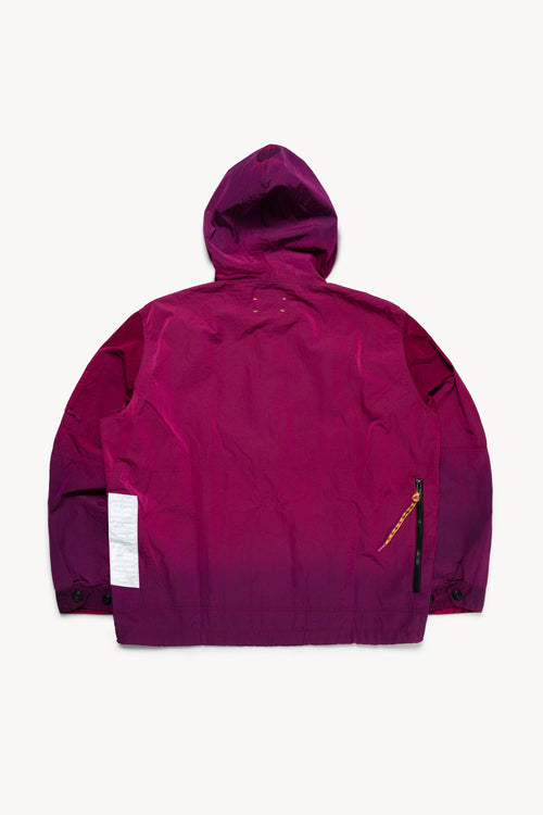 Ombré Dyed Windcheater Jacket