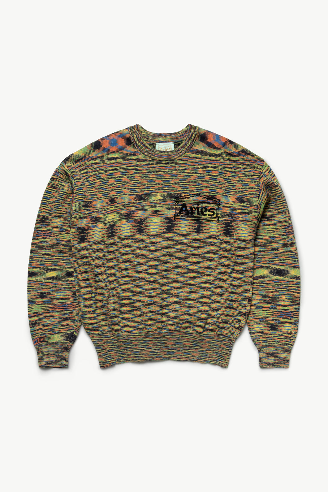 Magic Eye Temple Knit