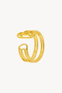 Column Ring - Gold