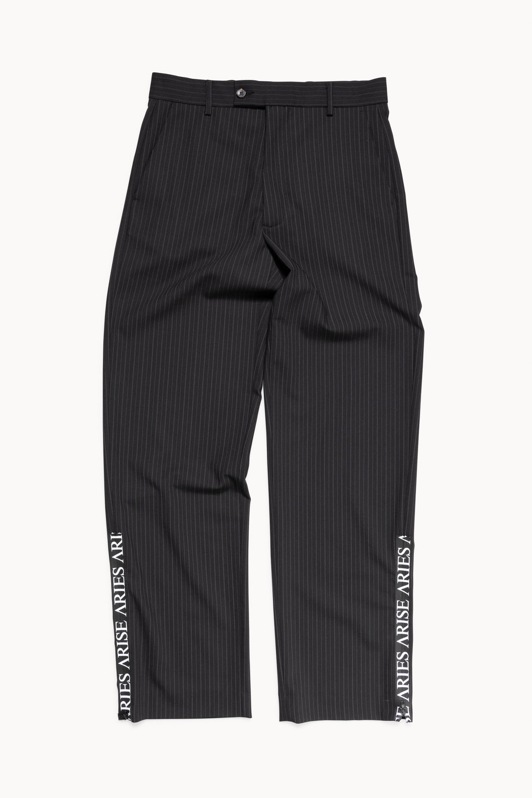 Zip Detail Tailored Trousers