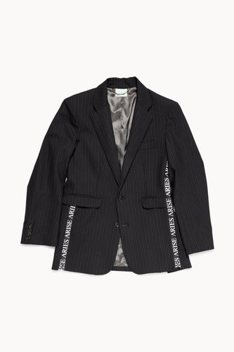 Zip Detail Tailored Jacket