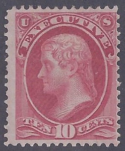 Scott #014 Mint PH OG Fine