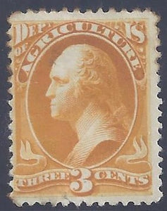 Scott #03 Mint PH DG F-VF