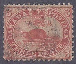 Canada Scott #12 Used VF