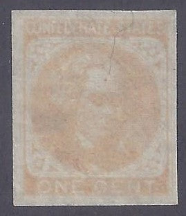 CSA Scott #14 Mint No Gum NH VF