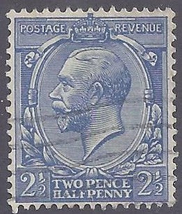 Great Britain scott #163 Used