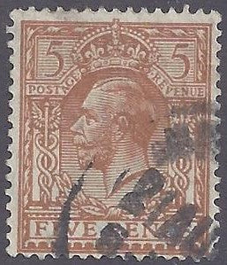 Great Britain scott #166 Used