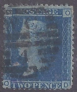 Great Britain scott #17 Used