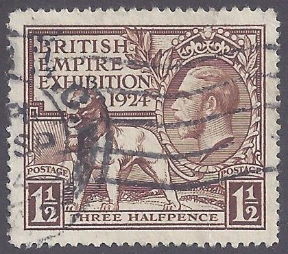 Great Britain scott #186 Used