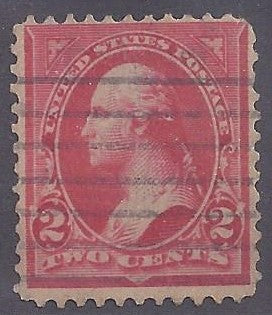 Scott #252 type IV, Used