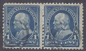 Scott #264 Used pair