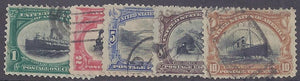 US Pan American Exposition scott #294-99 Used