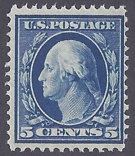 Scott #335 Mint NH OG Fine