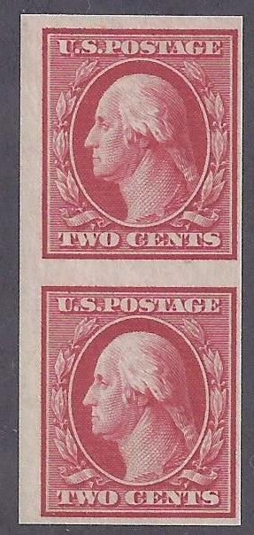 Scott #344 Mint vertical pair NH OG F-VF