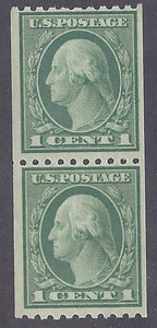 Scott #486 Mint Pair NH OG VF