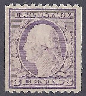 Scott #489 Mint NH OG VF