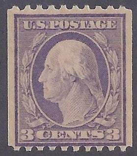 Scott #489 Mint NH OG F-VF