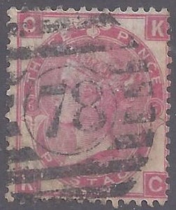 Great Britain scott #49 Used