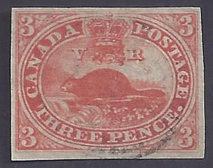Canada Scott #4 Used VF