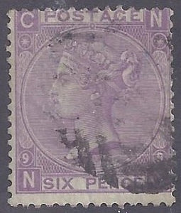 Great Britain scott #51 Used