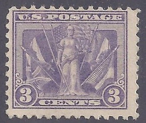 Scott #537 Mint NH OG F-VF