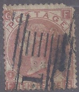 Great Britain scott #53 Used