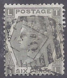 Great Britain scott #62 Used