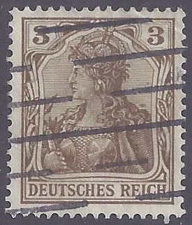 Germany scott #66 Used