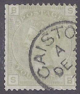 Great Britain scott #70 Used