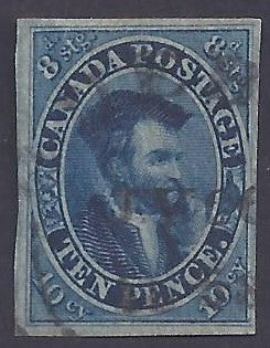Canada Scott #7 Used VF