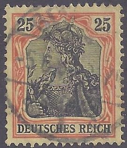Germany scott #85 Used