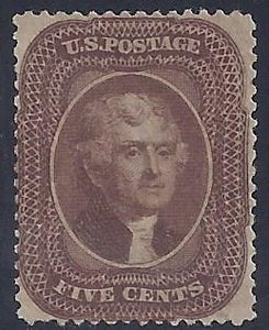 Scott #30A Mint Gem, OG intact, NH VF