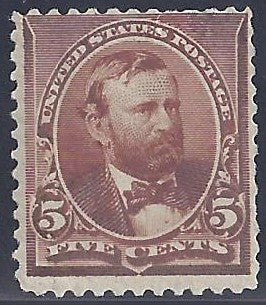 Scott #223 Mint PH OG Fine