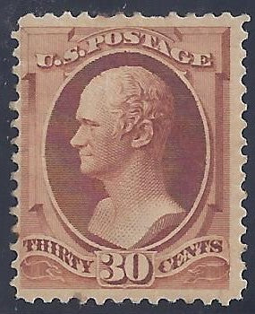 Scott #217 Mint PH OG F-VF