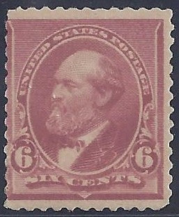 Scott #224 Mint NH OG Fine