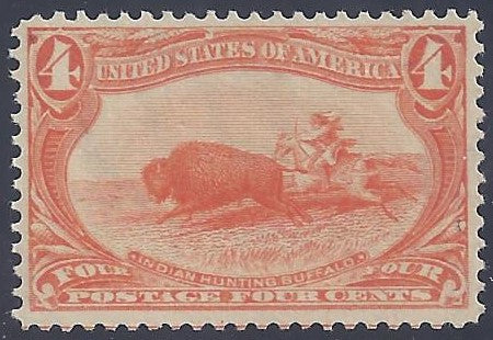 Scott#287 Mint NH OG VF-XF