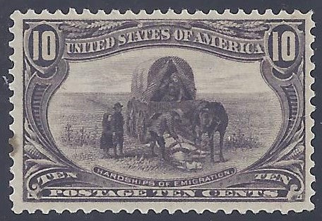 Scott #290 Mint NH OG VF