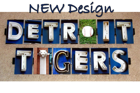 Detroit Tigers Package - 2 Frames Total