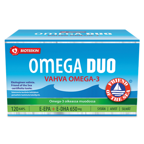 Duo Omega 3 - 120 капсул.