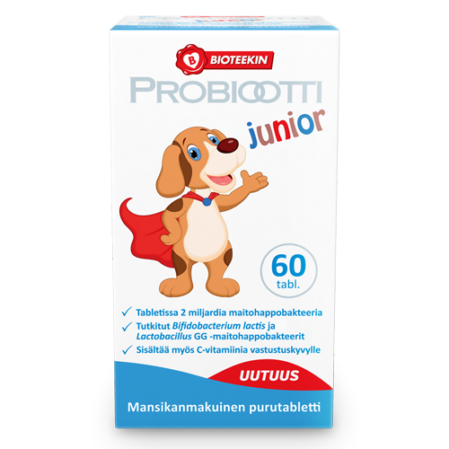 Probiootti junior - Пробиотик Юниор 60 табл.