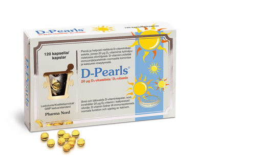 D-Pearls 20 мкг. 120 капсул.