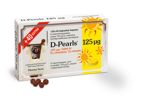 D-Pearls   125 мкг. 160 капсул (120+40 extra).
