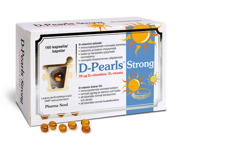 D-Pearls 38 мкг. 160 капсул.