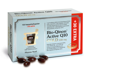 Bio-Qinon Active Q10 GOLD 100 мг. 150+30 extra капсул.