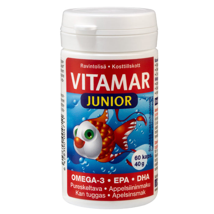 Vitamar Junior - омега-3. 60 капсул
