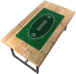 Poker mat 140x75 cm, square - casino design -