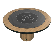 Load the picture into the gallery viewer, poker mat round, 100 cm diameter